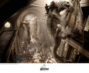 Harry Potter Artwork Harry Potter Artwork Escape of the Dragon
